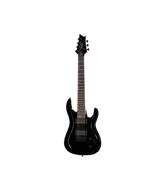 Gitara elektryczna 7-strunowa Harley Benton R-457 BK Progressiv