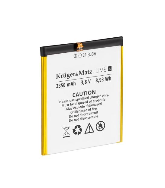 Oryginalna bateria do Kruger&Matz Live 4/4S