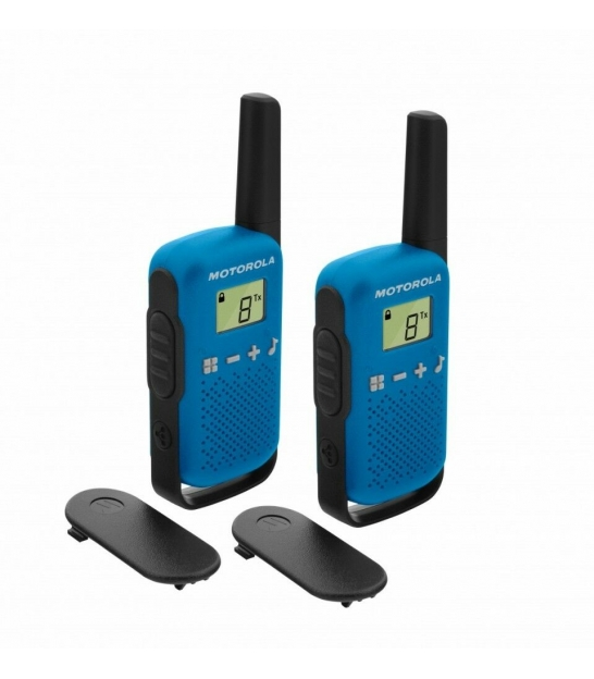 Radiotelefony ręczne PMR Motorola T42 niebieskie