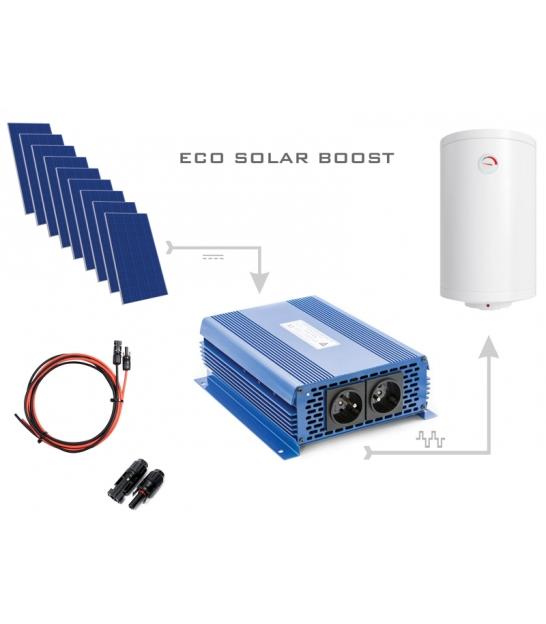 Zestaw do grzania wody w bojlerach ECO Solar Boost 2500W MPPT 9xPV Poli