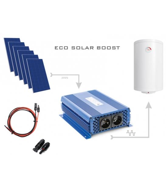 Zestaw do grzania wody w bojlerach ECO Solar Boost 1650W MPPT 6xPV Poli