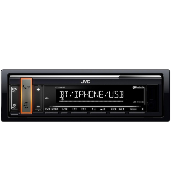 JVC KDX-361BT Radio samochodowe BT, USB, FM