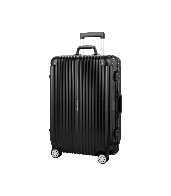 Średnia walizka na kółkach Kruger&Matz czarna