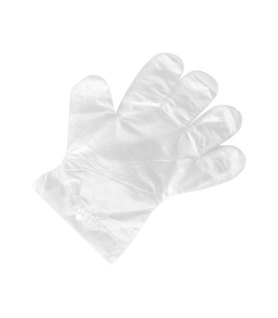 Rękawiczki foliowe jednorazowe (zrywki) 1kpl.-100szt.