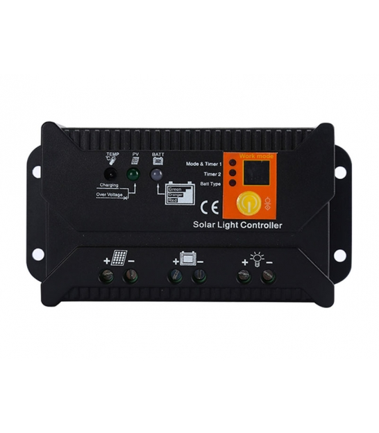 Solarny regulator ładowania PWM SOL-20S 12/24 - 20A