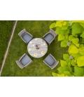 Zestaw mebli ogrodowych AMBER 1 TEESA