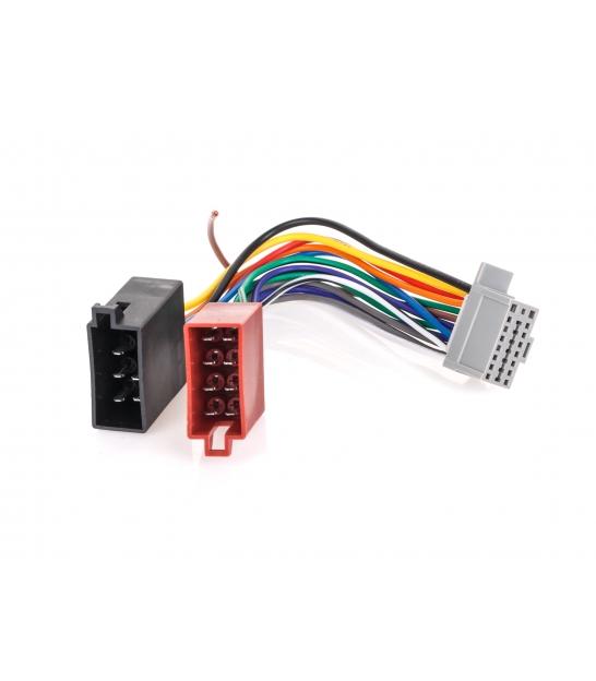 Złącze do Panasonic CQ-RDP 123 szara 16pin(nowa Alpine)-ISO-KP123