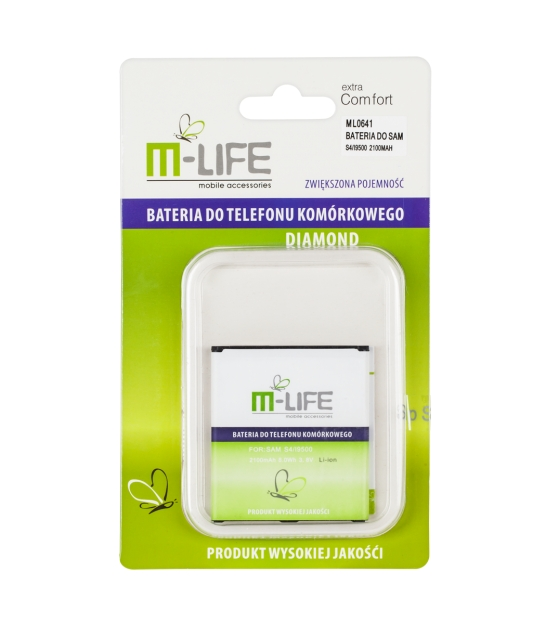 Bateria M-Life EBB600BE do SAMSUNG Galaxy S4 i9500