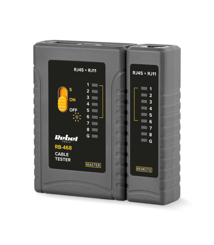 Tester lini telefonicznych REBEL RB-468