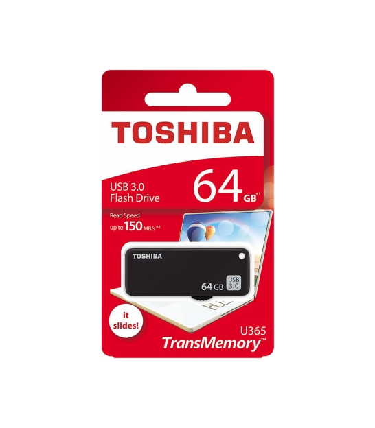 Pendrive Toshiba USB 3.0 64GB czarny