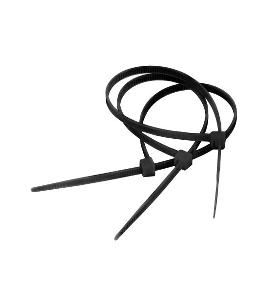 Opaska zaciskowa 3,6 mm/20 cm czarna Cabletech 100szt.