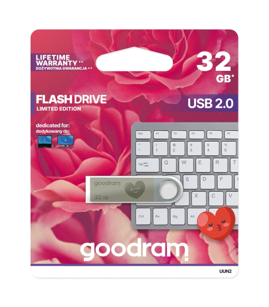 Pendrive Goodram USB 2.0 32GB VALENTINE