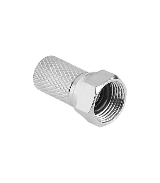 Wtyk SAT F 6,8 mm + uszczelka Cabletech