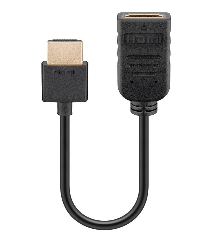 Adapter przedłużacz elastyczny Flex HDMI™ / HDMI™ 0,1m