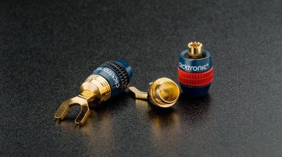 Wtyki głośnikowe Clicktronic